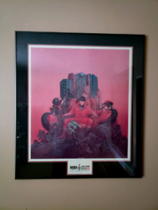 Rare Akira Framed Print