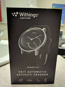 Withings Activité Steel Fitness Watch