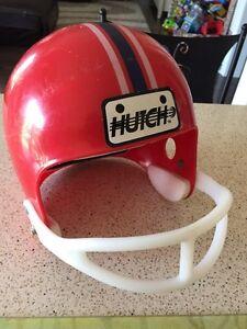 Vintage Hutch kids play football helmet