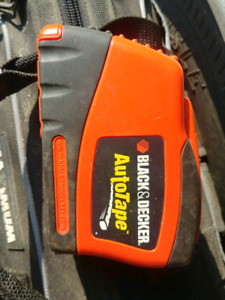Black & decker auto tape