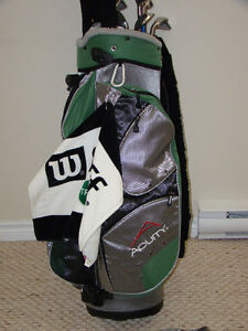 ACUITY GOLF BAG with rain cover and cooler pocket