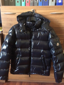 Black Moncler Jacket size 1 (extra small & small)