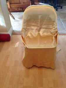 Universal Fit GOLD Chair Covers - $2 EACH Kitchener / Waterloo Kitchener Area image 1