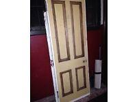 Tenement doors