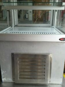 """QBD 24"""" CURVED GLASS DELI/PASTRY DISPLAY COOLER (ppu )"""