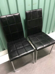 Black chairs $25.00 OBO