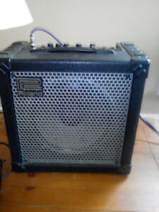 Roland cube 30. 40 watts with multiple effects built in.