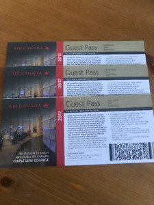 Maple Leaf Lounge Passes (Air Canada)