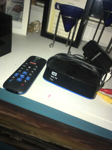 WD tv play box (like an android box but older)