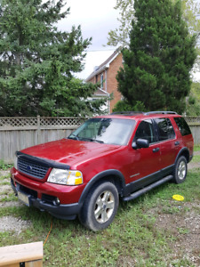 2004 Ford Explorer NBX 4DR 4WD V8 4.6L selling as is