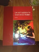 Social service worker law textbook