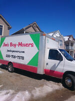 SPECIAL  MOVING DEALS WITH JIM`S BOY MOVERS