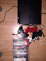 Ps3 (with controllers and games) for sale