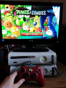 good condition xbox360 with 7 games, all wires and controller