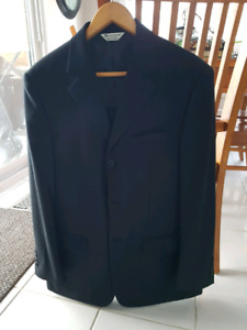 Suit Jacket with dress shirt perfect for Grade 8 graduation