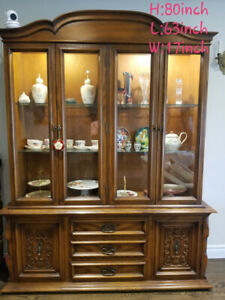 Moving sell: Antique China Cabinet