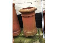"20"" cannon top chimney pot"