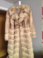 Manteau de chez Laflamme fourrure