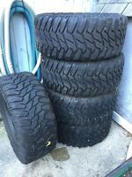 """5- 18 x 35""""x 13.5 Tires for sale"""
