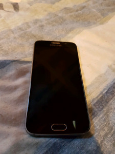 Mint condition Samsung Galaxy s6 *sasktel/bell*