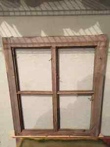 Antique window/picture frame