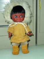 Native Indian Girl Doll Reliable Toy Co Rawhide Dress and Boots
