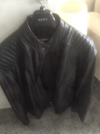 Men's Leather Jacket Never worn