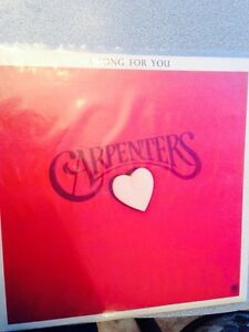 The Carpenters LP record Album