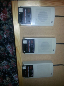 Realistic intercoms (3-pcs)
