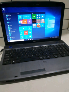 Acer Aspire 5338 8Gb Windows 10 PRO laptop, Stafford Heights Brisbane North West Preview