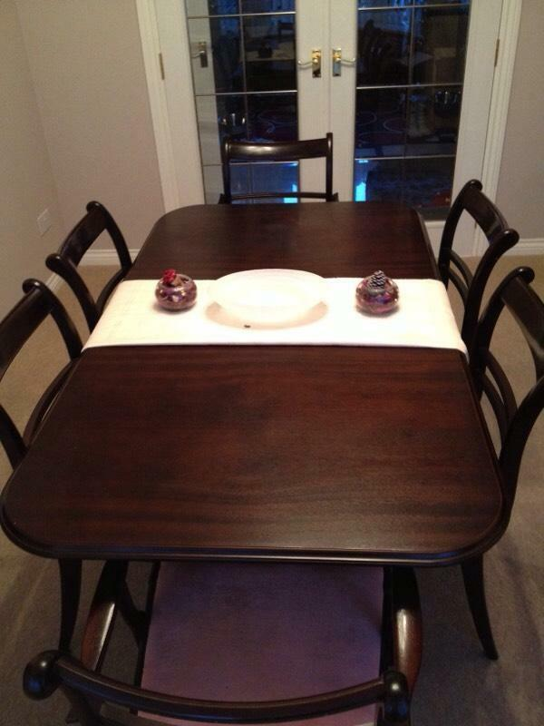dining table 6 chairs for sale in kirkcaldy fife gumtree
