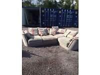 large family corner sofa