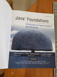 Java Foundations: intro to prog. &data str. 4th ed.John Lewis