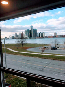 3 bdr apt with Waterview in new build 4plex. 877 Riverside Dr E