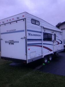 Wilderness by Fleetwood 24ft Toy Hauler - Reduced