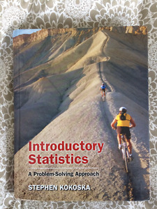 Introductory Statistics (by Stephen Kokoska) HARDCOVER