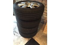 Vw beetle, golf Audi alloy wheels 5x100 205 55 16
