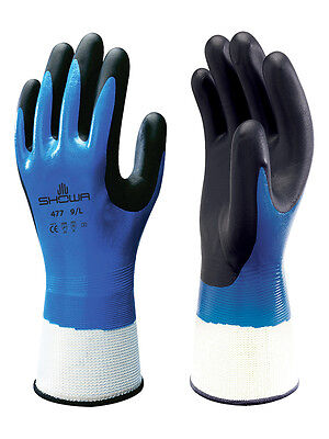 Showa 477 Insulated Nitrile Foam Grip Glovewaterproofwindproof 1 Pair Large