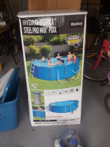 Hydro-Force Steel Pro Frame Pool