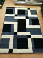 5 x 8 Brand New Area Rug Carpet modern Grey design
