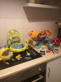 Octonaught toys
