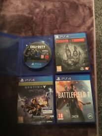 PS4 Games all good condition £30 open to offers