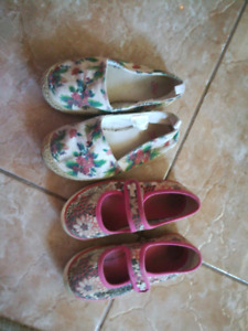 GapKids and Guess shoes