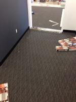 Carpet installation, Linoleum rolls floor installation, carpet t