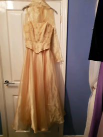 Various prom and ball gowns