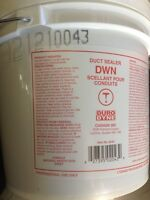 Two pails of duct mastic, new unopened, best offer