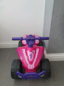 Pink quad with charger