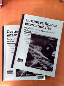 Gestion et finance internationales - Tomes 1 et 2