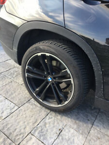 "20"" BMW Black Wheels Rims 275/40ZR20 Antares Majoris M5 Tires"