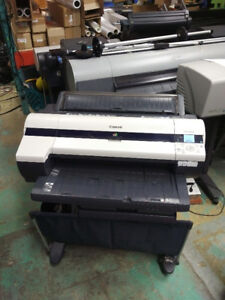 Canon iPF610 for sale. wide format plotter 24'' wide.